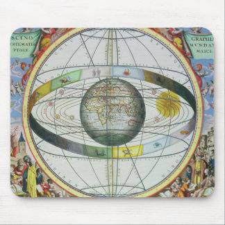 Map of Christian Constellations, from 'The Celesti Mouse Mat