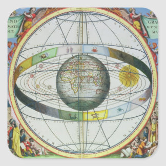 Map of Christian Constellations, from 'The Celesti Square Sticker