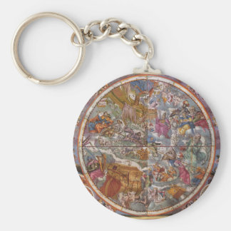 Map of Christian Constellations, Southern Skies Key Ring