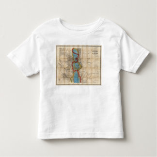 Map of Colorado Territory Toddler T-Shirt