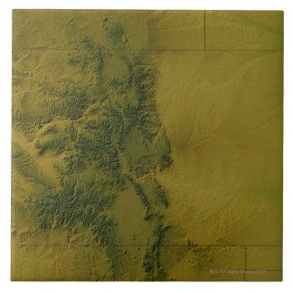 Map of Colorado Tile