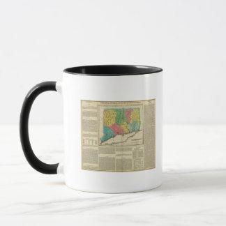 Map Of Connecticut Mug