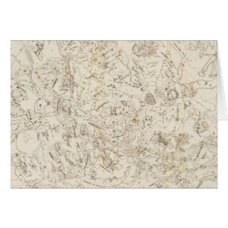 Map of Constellations Greeting Card