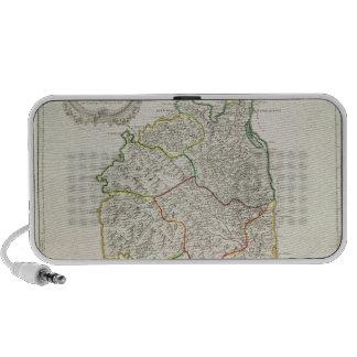 Map of Corsica iPhone Speaker