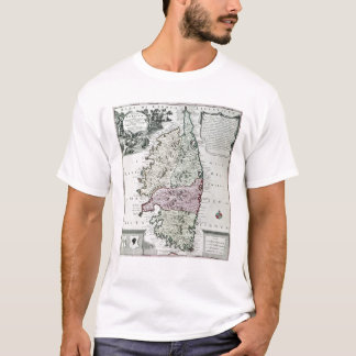 Map of Corsica T-Shirt