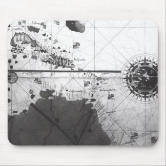 Map of countries mouse mat