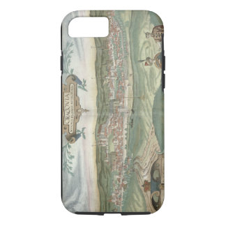 Map of Cracow, from 'Civitates Orbis Terrarum' by iPhone 8/7 Case