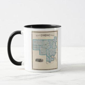 Map of Crawford County Mug