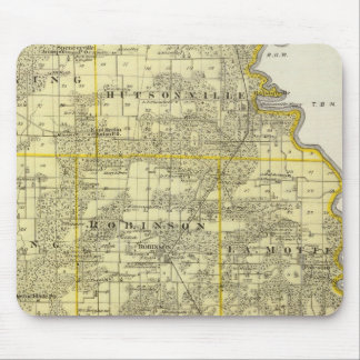 Map of Crawford County, Robinson Mouse Mat