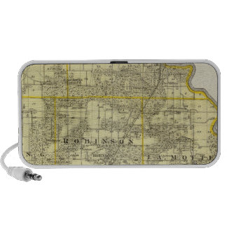 Map of Crawford County, Robinson iPhone Speakers