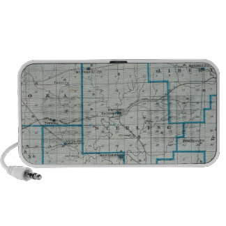 Map of Crawford County Laptop Speakers