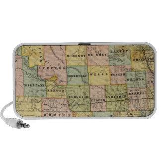 Map of Dakota Travelling Speaker