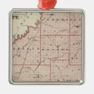 Map of Daviess County Christmas Ornament