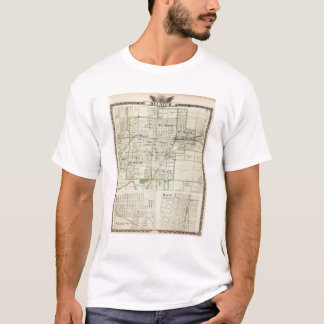 Map of Decatur City, and Sullivan and Macon T-Shirt