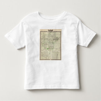 Map of Decatur City, and Sullivan and Macon Toddler T-Shirt