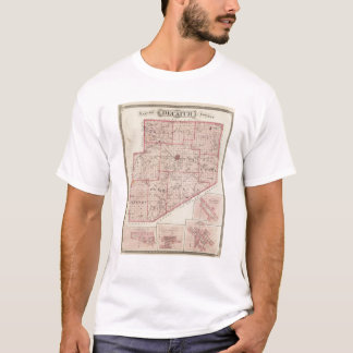 Map of Decatur County with St Omer T-Shirt