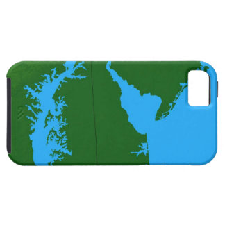 Map of Delaware Case For The iPhone 5