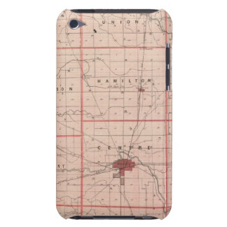 Map of Delaware County iPod Touch Cover