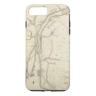 Map of Detroit River iPhone 8 Plus/7 Plus Case