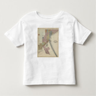 Map of Duluth, St. Louis County, Minnesota Toddler T-Shirt