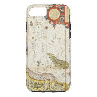Map of East Africa and Madagascar, 1596 (hand colo iPhone 8/7 Case