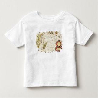 Map of East Africa and Madagascar, 1596 (hand colo Toddler T-Shirt