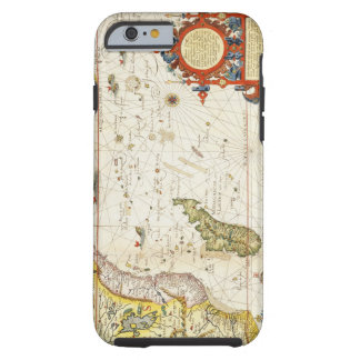 Map of East Africa and Madagascar, 1596 (hand colo Tough iPhone 6 Case