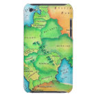 Map of Eastern Europe Barely There iPod Cover