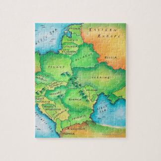 Map of Eastern Europe Puzzle