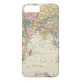 Map of Eastern Hemisphere iPhone 8 Plus/7 Plus Case