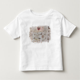 Map of Eastern North America Toddler T-Shirt