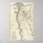Map of Egypt Print