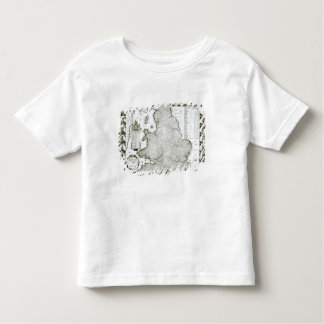 Map of England and Wales, 1644 Toddler T-Shirt