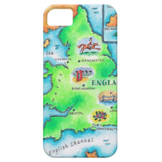 Map of England Case For The iPhone 5