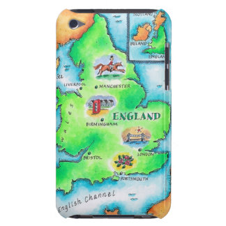 Map of England iPod Touch Case