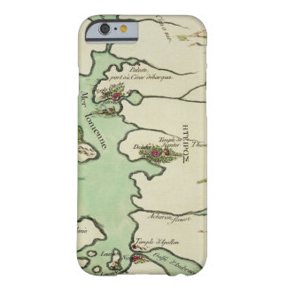 Map of Epirus for 'Andromache' by Jean Racine, fro Barely There iPhone 6 Case