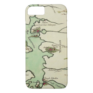 Map of Epirus for 'Andromache' by Jean Racine, fro iPhone 8/7 Case
