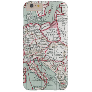 MAP OF EUROPE, 12th CENTURY Barely There iPhone 6 Plus Case
