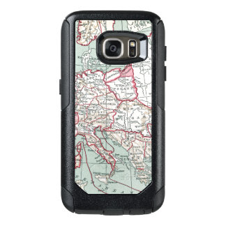 MAP OF EUROPE, 12th CENTURY OtterBox Samsung Galaxy S7 Case