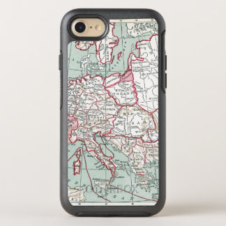 MAP OF EUROPE, 12th CENTURY OtterBox Symmetry iPhone 7 Case