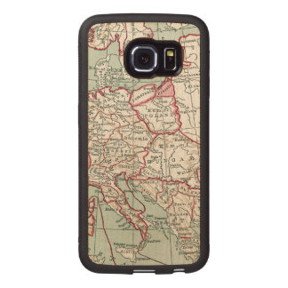 MAP OF EUROPE, 12th CENTURY Wood Phone Case