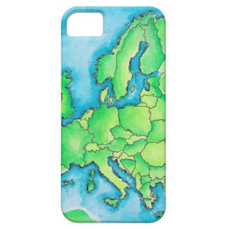 Map of Europe 2 Barely There iPhone 5 Case
