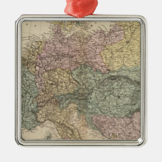 Map of Europe 2 Christmas Ornament