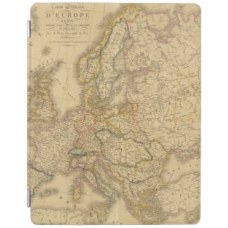 Map of Europe 2 iPad Cover