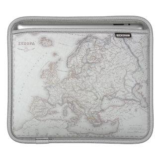 Map of Europe 2 iPad Sleeve