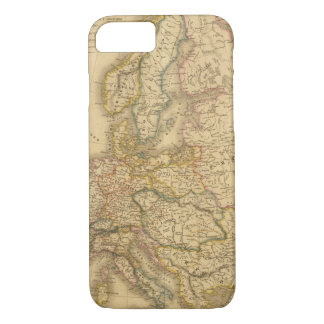 Map of Europe 2 iPhone 8/7 Case