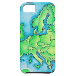 Map of Europe 2 Tough iPhone 5 Case
