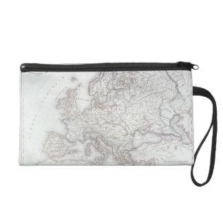 Map of Europe 2 Wristlet