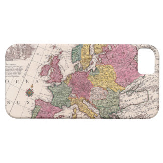 Map of Europe 3 Case For The iPhone 5