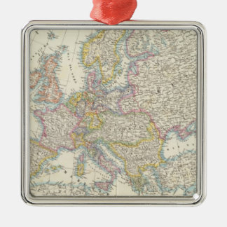 Map of Europe 3 Christmas Ornament